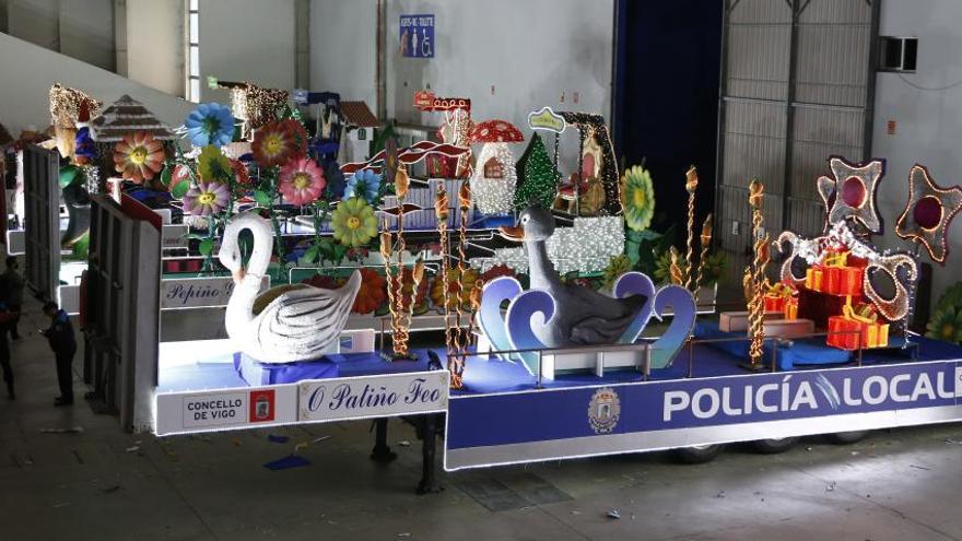 """Una cabalgata de Reyes de """"Guinness"""" en Vigo"""
