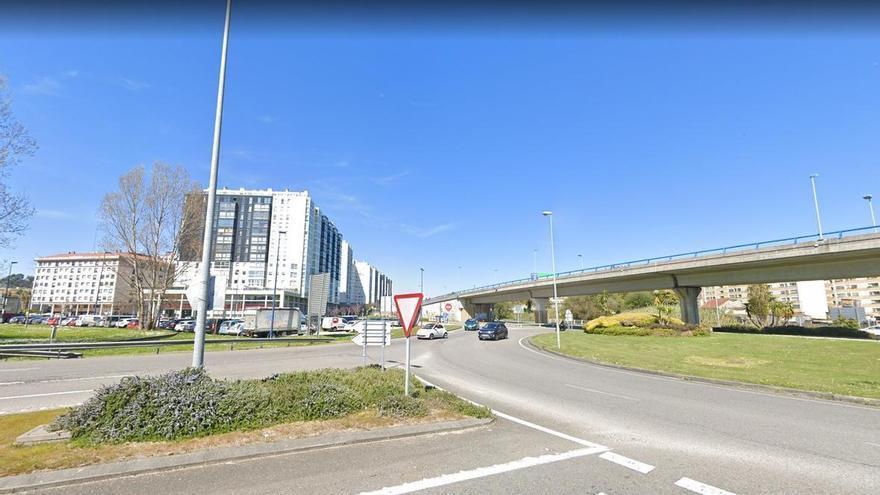 Herido un ciclista atropellado en Vigo