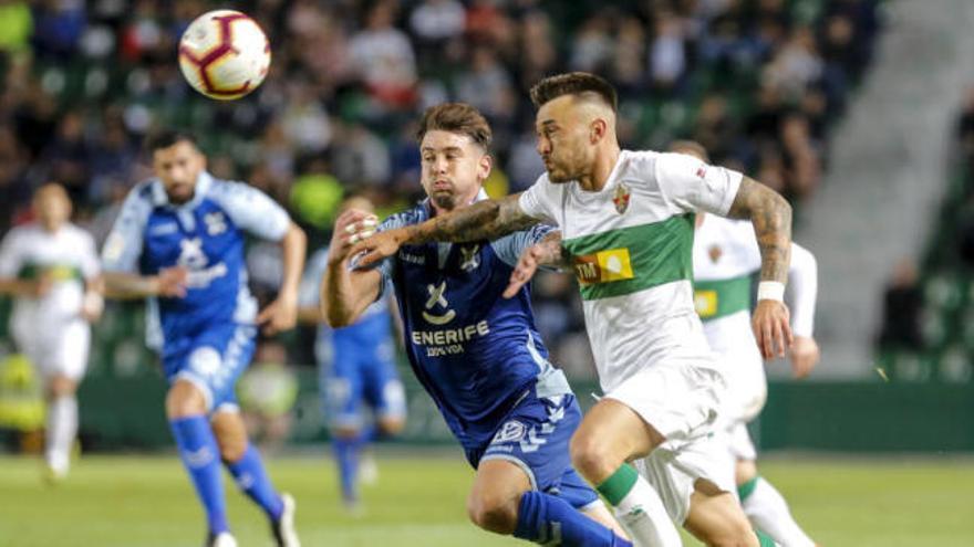Elche-Tenerife, un clásico en Segunda División