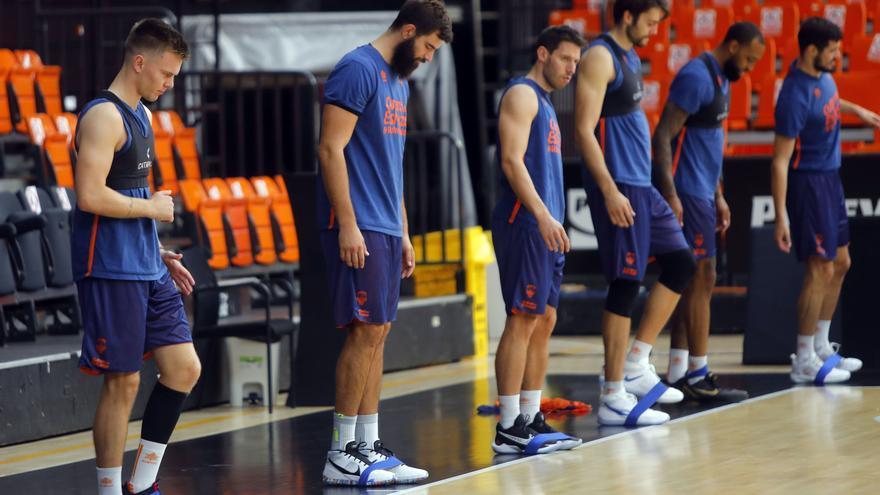 Una baja en la vuelta al trabajo del Valencia Basket