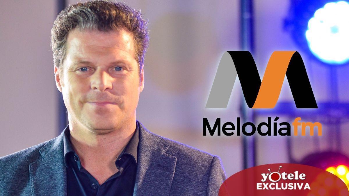 Jota Abril, presentador de 'Parece mentira', el nuevo morning de Melodía FM.