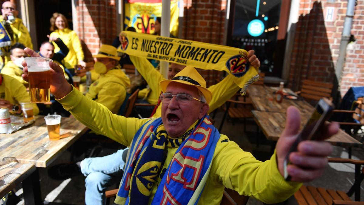 Galería de fotos de la final entre el Villarreal y el Manchester