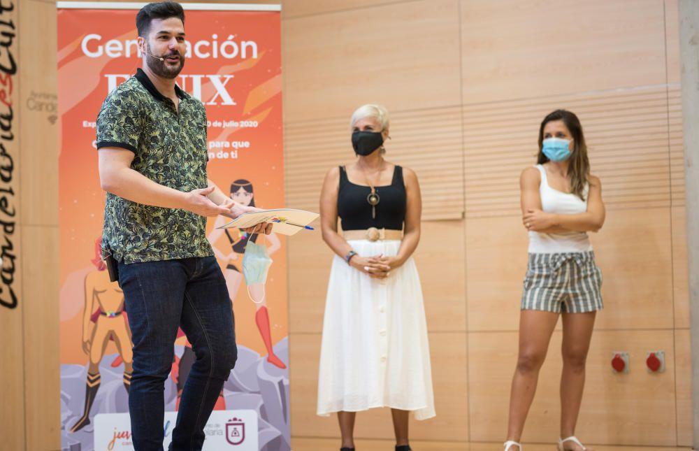 Laura Fuentes presenta la 'Generación Fénix'.