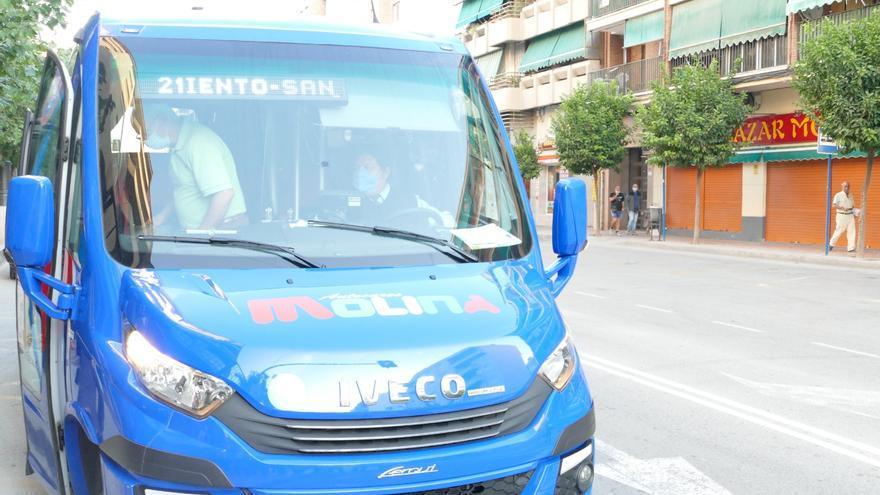 El servicio gratuito de autobuses arranca hoy en Molina
