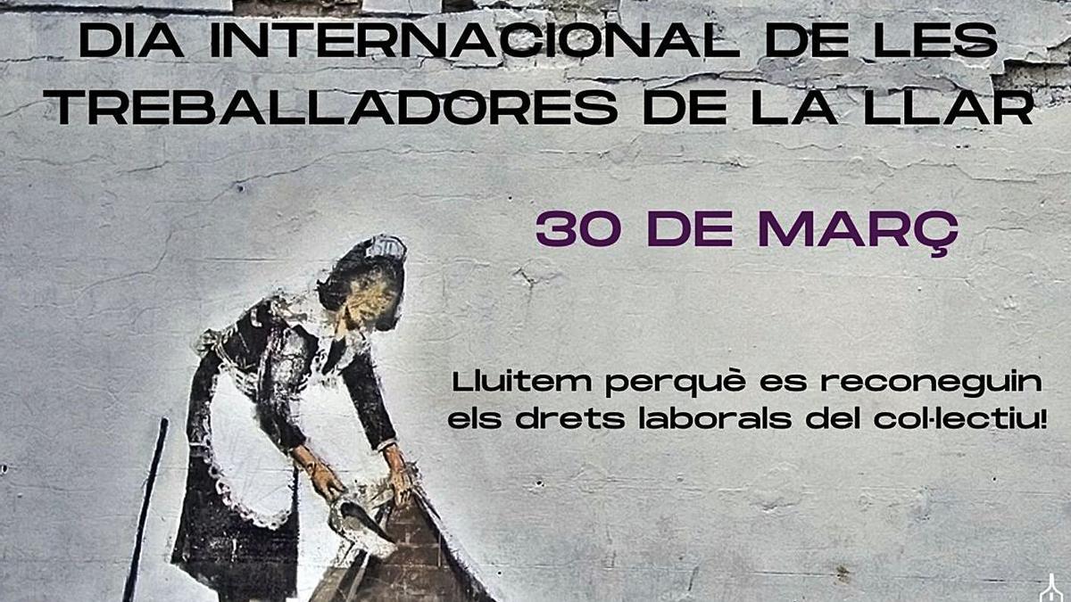 El STEI ha lanzado para hoy este cartel en el Día Internacional de las Trabajadoras del Hogar.