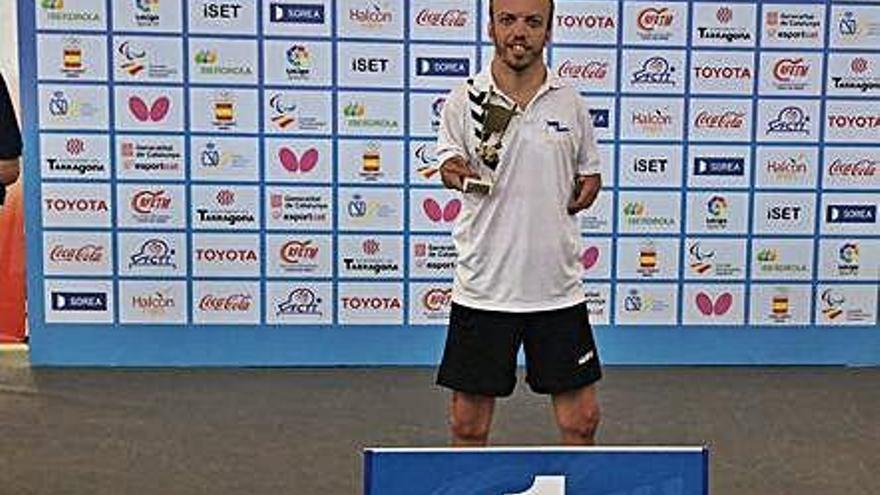 Alberto Seoane cierra la temporada con el título de campeón de España