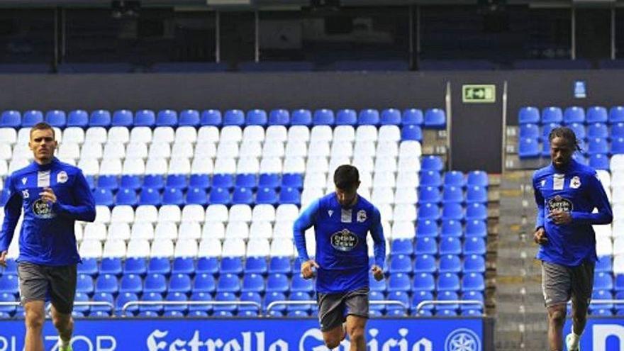 El Deportivo, pendiente de recuperar a los jugadores con molestias