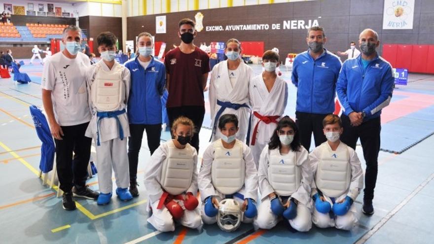 El Kimé destaca en la Liga Andaluza de karate