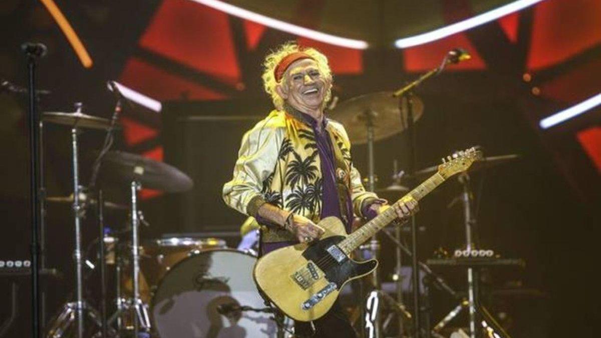 """Keith Richards: """"Ya no desayuno con heroína y he aprendido a ser abuelo"""""""