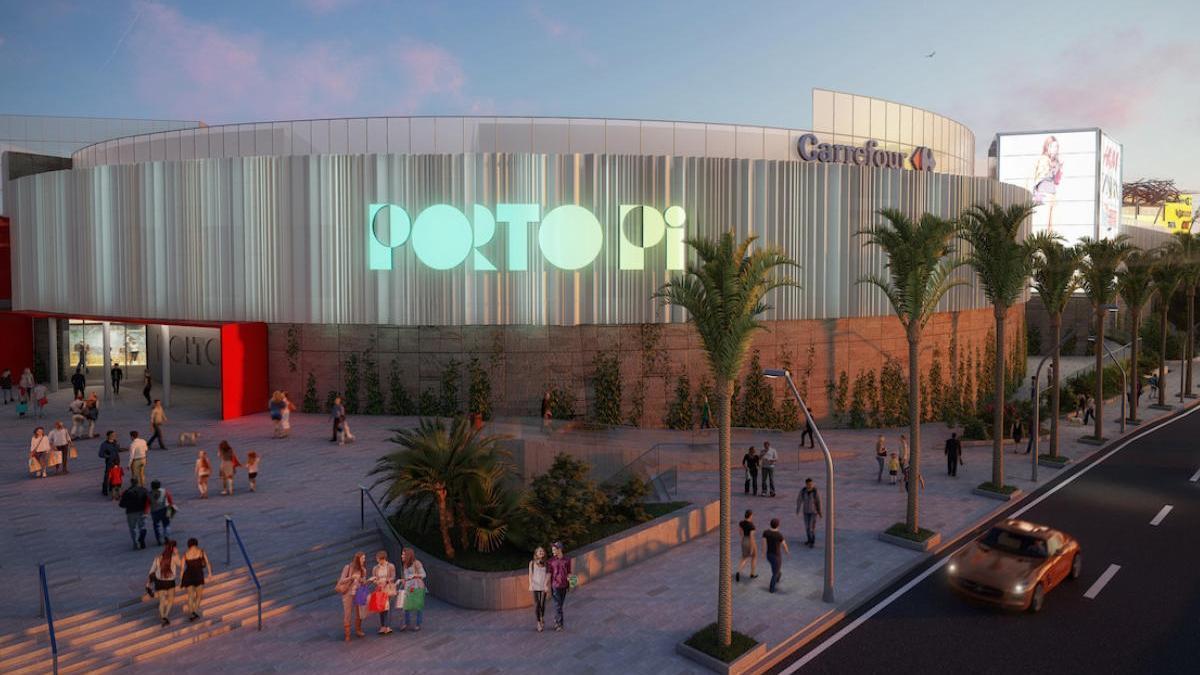 Porto Pi Centro completa la primera fase del proyecto de remodelación
