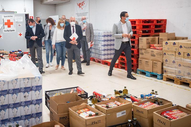 Antonio Morales conoce de primera mano la labor de Cruz Roja