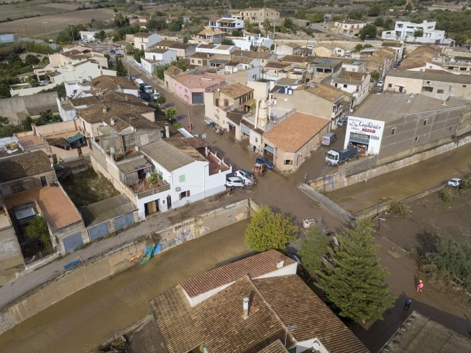 La zona 0 de Mallorca, vista desde el aire