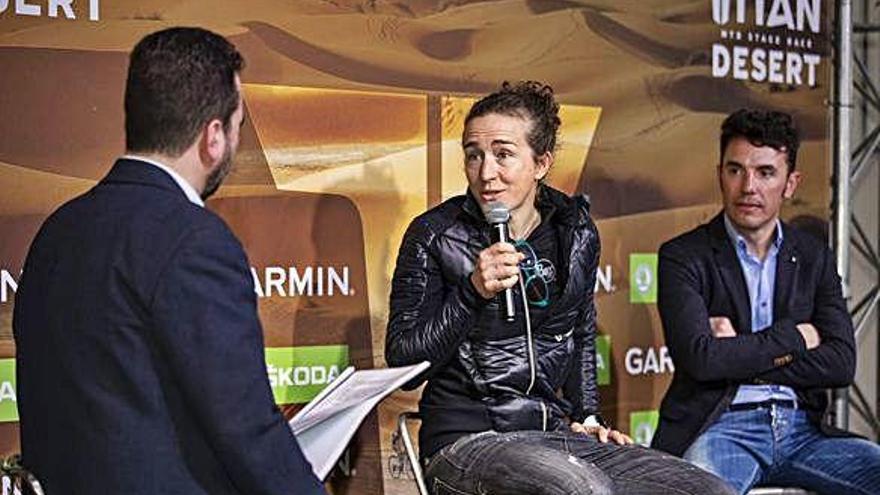 Núria Picas debutarà a la Titan Desert com a ciclista del TBellès a l'edició més exigent