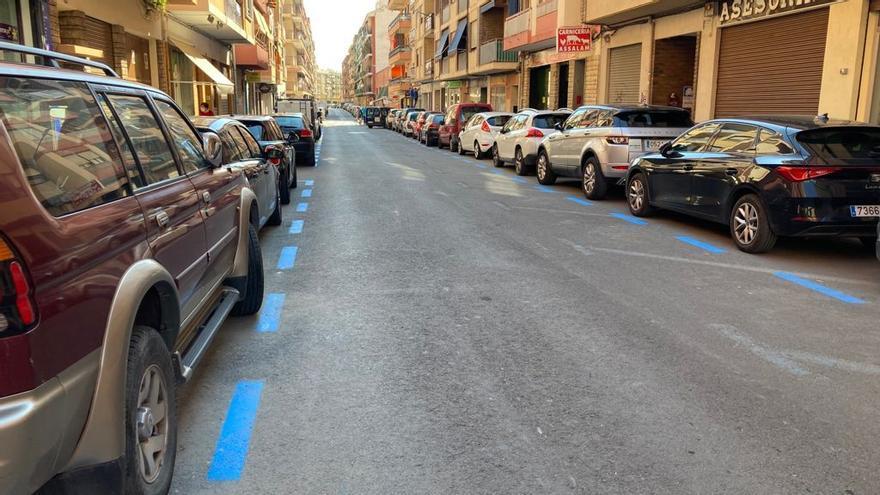 La Vila recupera la zona azul y duplica el número de plazas hasta superar el millar