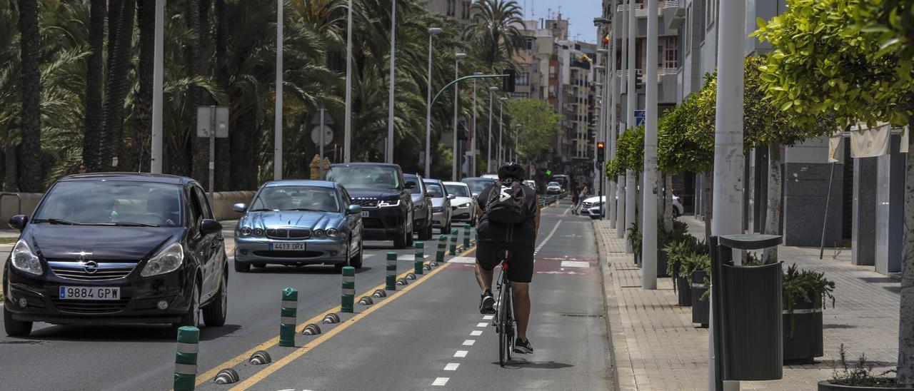 Elche construirá dos nuevos carriles bici en la ciudad