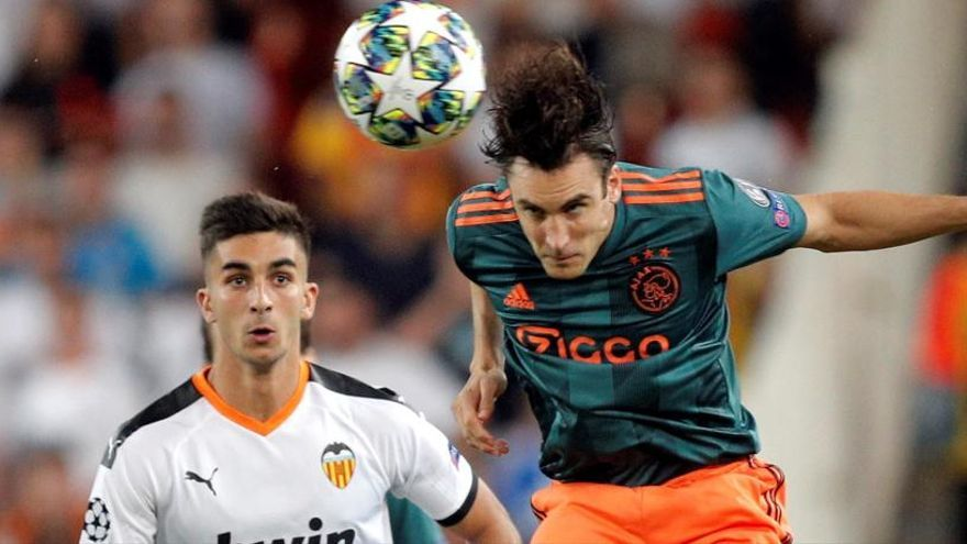 Valencia - Ajax, en directo