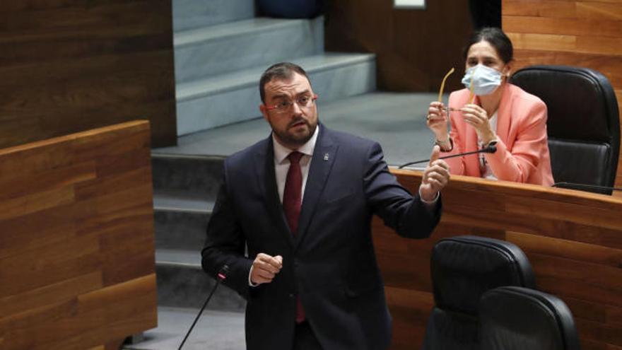 """Barbón pide apoyo para que la reforma de la administración asturiana  """"no la haga la derecha con recortes"""""""