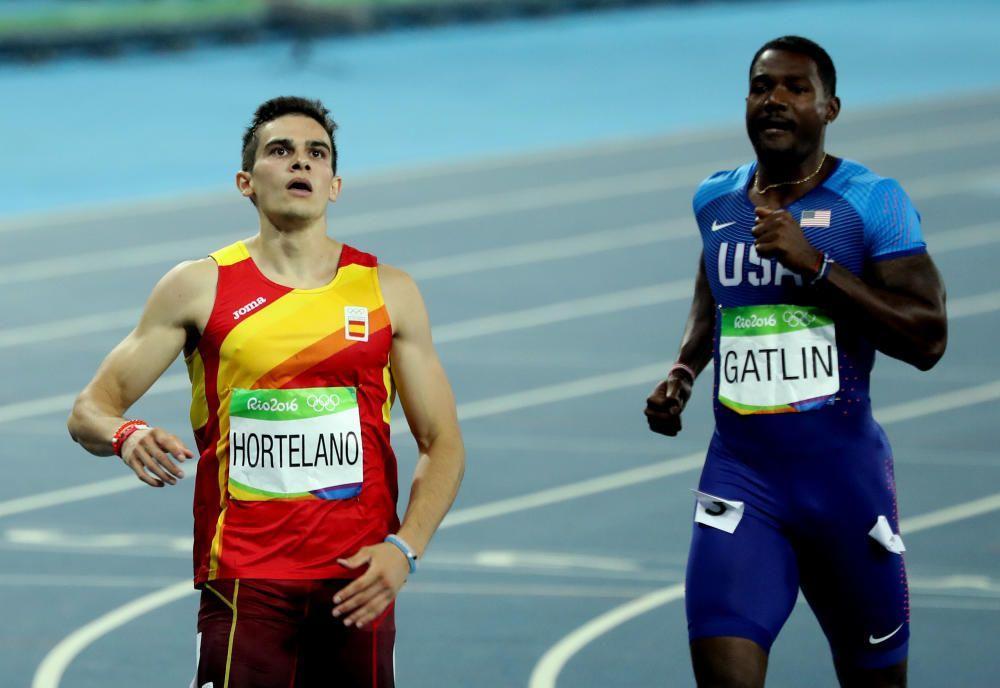 Bruno Hortelano, campeón de Europa en los 200 metros, no llegó a la final.