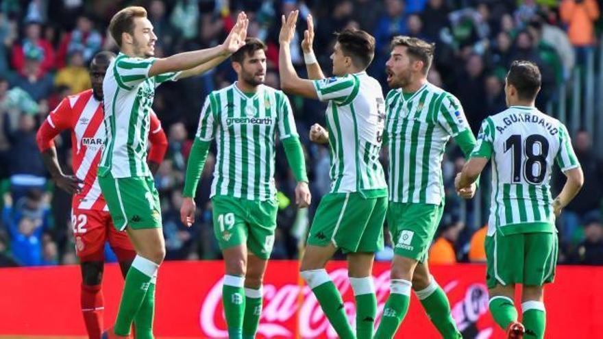 El Betis gana un intenso duelo al Girona