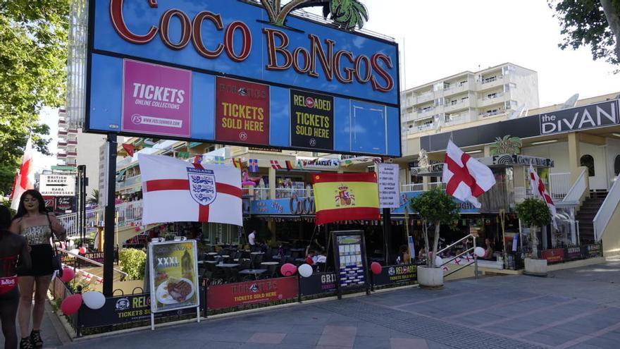 Magaluf se blinda contra los 'hooligans' ante el Inglaterra-Túnez