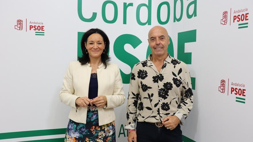 El PSOE defiende la caída de la inversión en Córdoba de los PGE porque ya hay proyectos avanzados