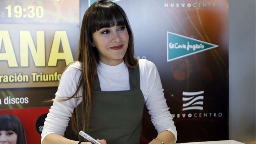 Aitana actuará en Murcia en junio