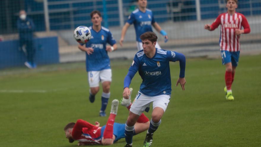 El Vetusta se lleva el miniderbi por la mínima ante el Sporting B