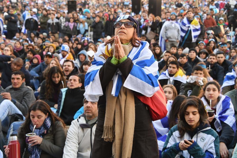 Mundial de Rusia: Uruguay-Francia
