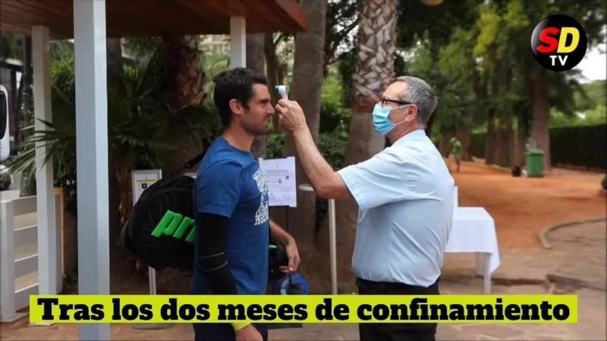 Roberto Bautista y Pablo Andújar vuelven a entrenar en Valencia