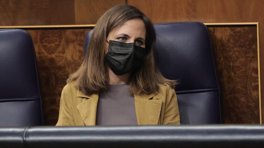 Belarra afirma desconocer el bono vivienda anunciado por Sánchez