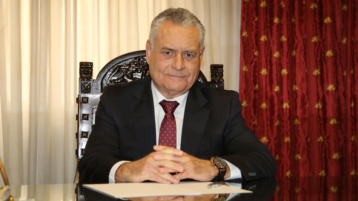 Joaquín Giner, presidente del Colegio de Gestores Administrativos de València.