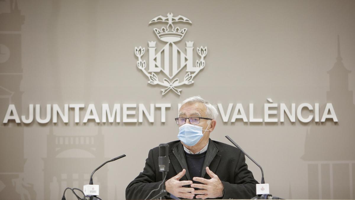 El alcalde de València, Joan Ribó, en una imagen de archivo.