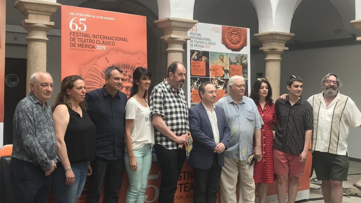 Cicerón dialoga sobre el presente y el pasado en el Festival de Teatro de Mérida