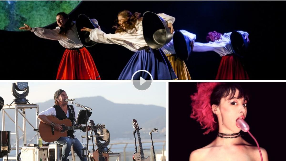 Algunos de los espectáculos programados este fin de semana en Vigo.