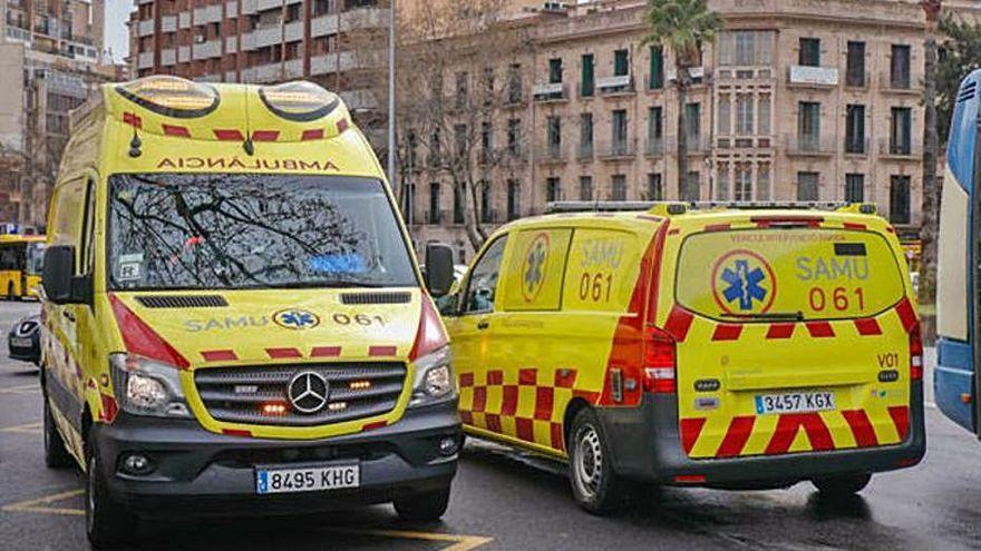 Una niña de cuatro años se precipita por la ventana de un segundo piso en Mallorca