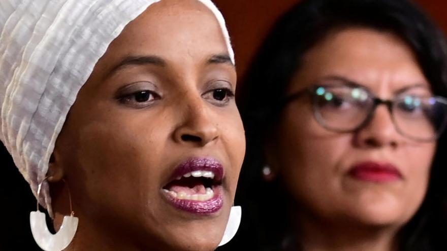 """Las congresistas tachan de """"afrenta"""" el veto de Israel"""