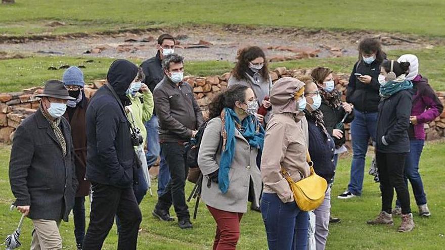 El verde fascinante de los castros asturianos