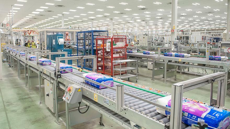 La planta de P&G de Xixona reduce en un 99% sus emisiones de CO2