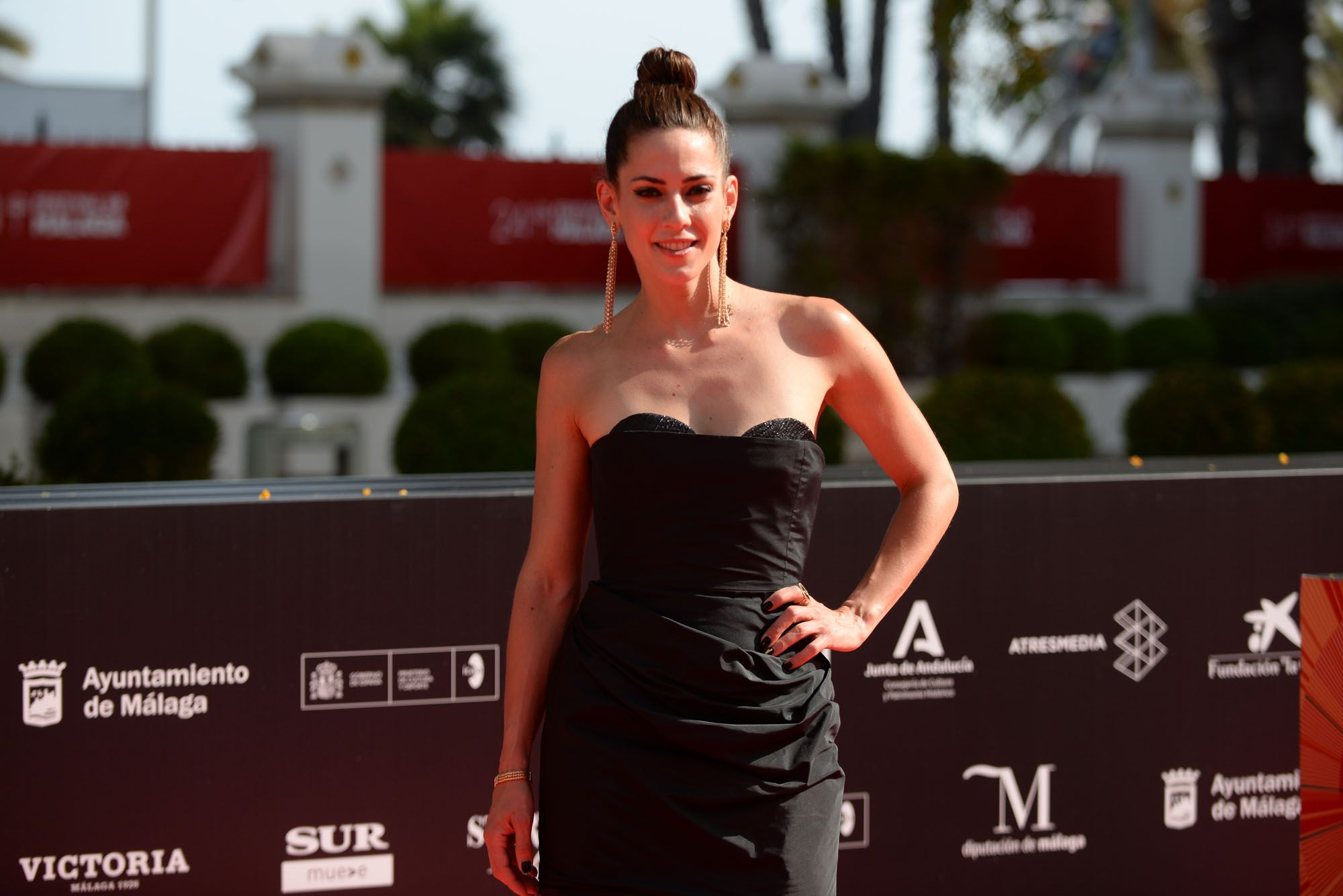 Las imágenes de la última alfombra roja del Festival de Málaga 2021