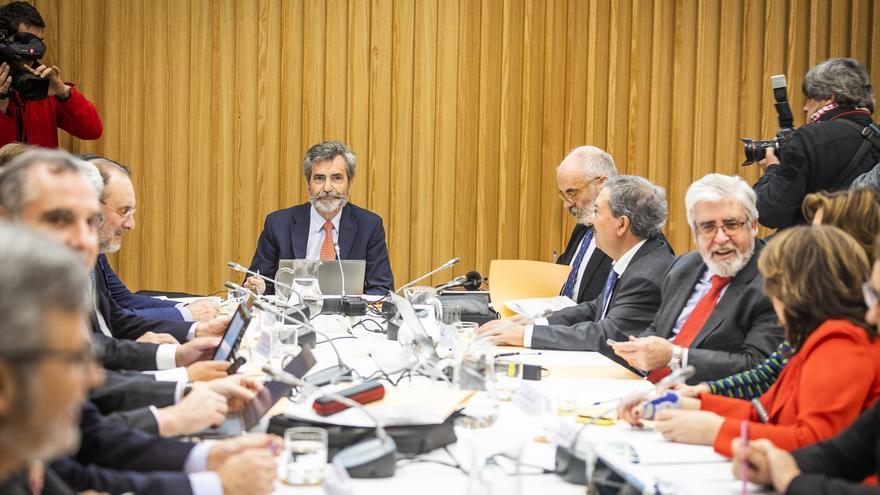 El CGPJ debatirá en un pleno extraordinario si recurre al Constitucional su reforma