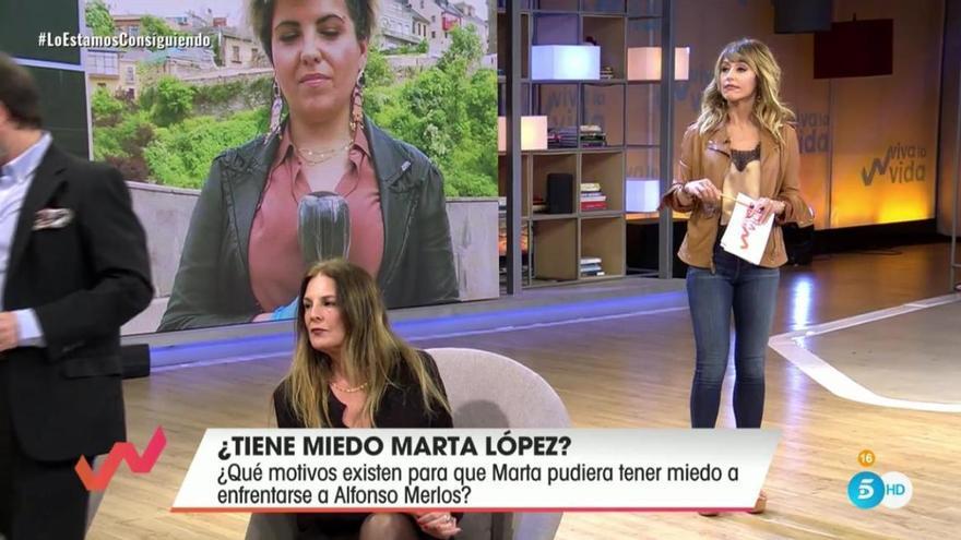 Desvelan la razón por la que Marta López teme acabar en los tribunales por su relación con Alfonso Merlos