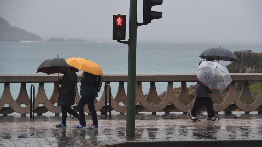 Descienden las temperaturas y aumentan las lluvias en la franja atlántica