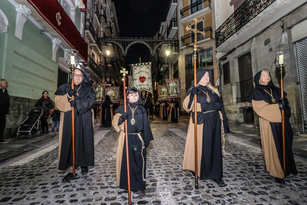 Procesión del Vía Crucis en Alcoy