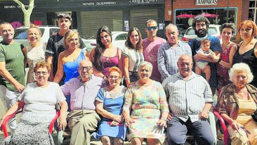 Encuentro de la familia Cerviño, de Requejo de Sanabria