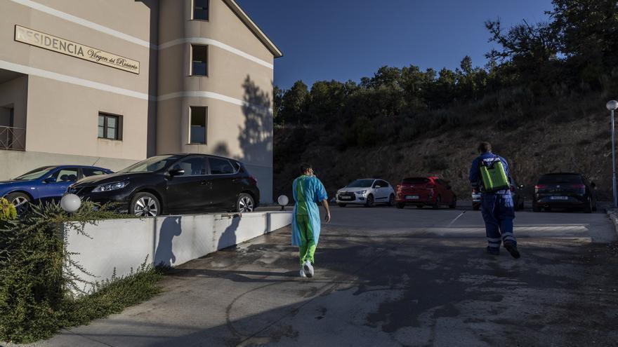 Cuatro fallecidos en 24 horas en la residencia de El Puente