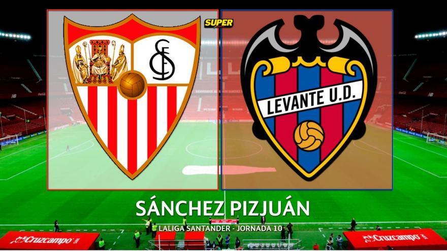 Alineaciones probables Sevilla-Levante