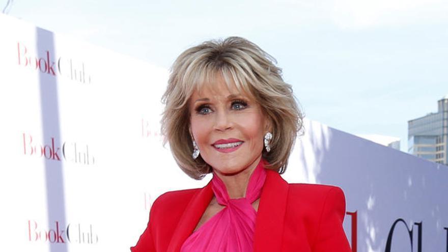 Jane Fonda le declara la guerra a los restaurantes que sirven pulpo