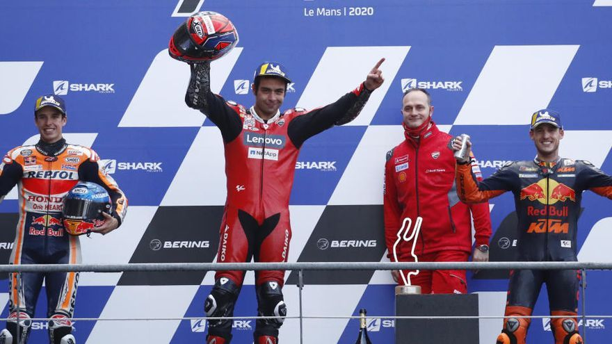 Resultado y clasificación del Gran Premio de Francia de MotoGP