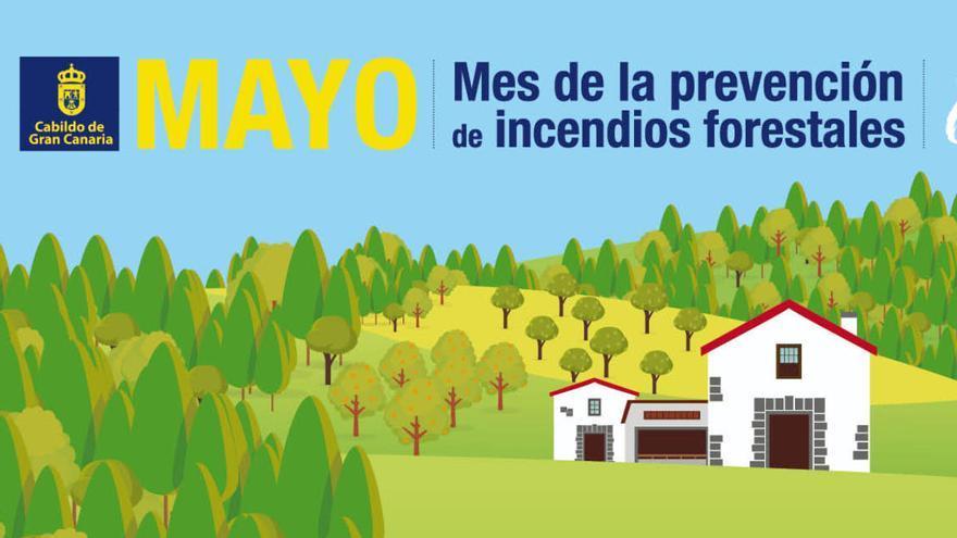 El Cabildo inicia una campaña para preparar a la población contra el fuego
