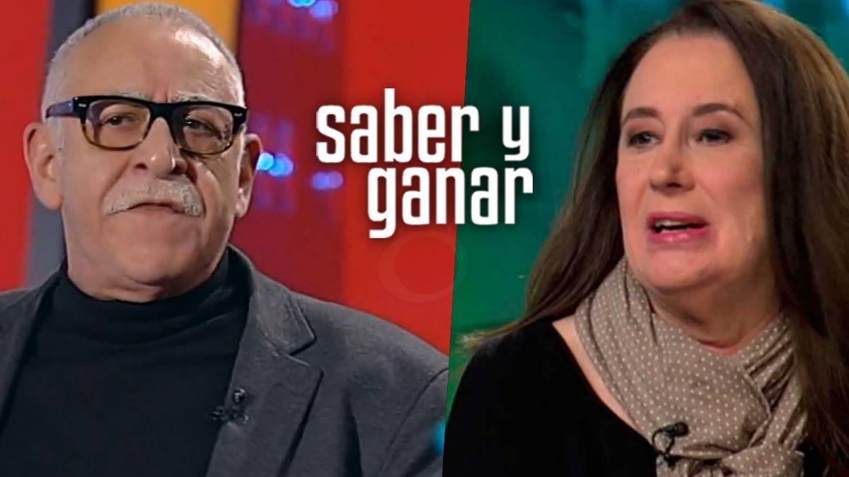 Juanjo Cardenal y Elisenda Roca.